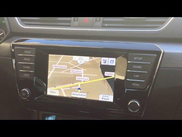 Adaptiv - instalace navigace do nové Škoda Superb 3 generace + odblokování obrazu, přehrávání filmů