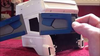 RC TRUCK   INSTALLING THE 3D PRINTED INTERIOR DOOR CARDS - TAMIYA SCANIA