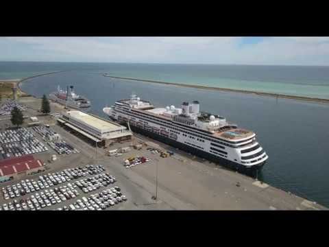 Cruise Ships by drone 4K