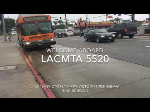 LACMTA 2000 New Flyer C40LF #5520 | Coin Lloyd's Transit Hub