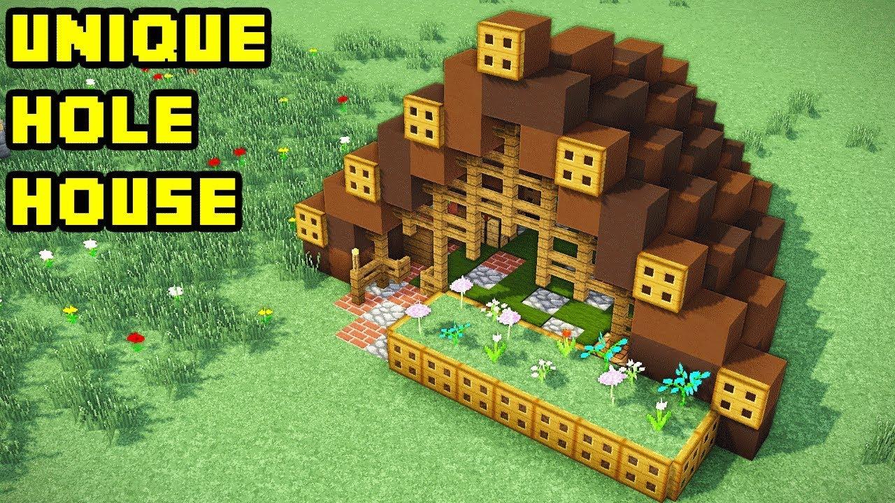 minecraft hobbit house tutorial