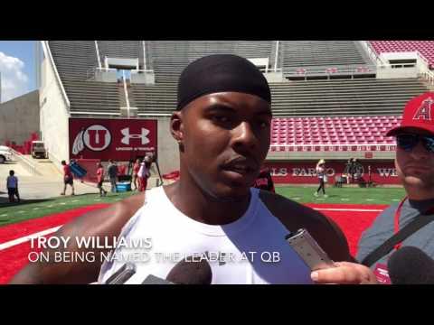 Utah's quarterbacks talk about fall camp competition (The Salt Lake Tribune)