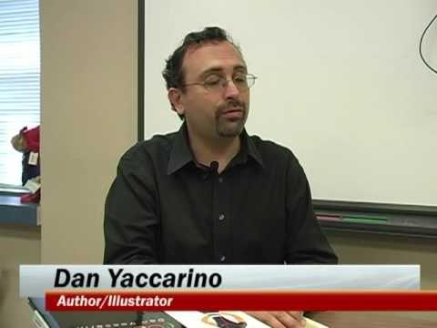 Author Dan Yaccarino Visits Britain Elementary School