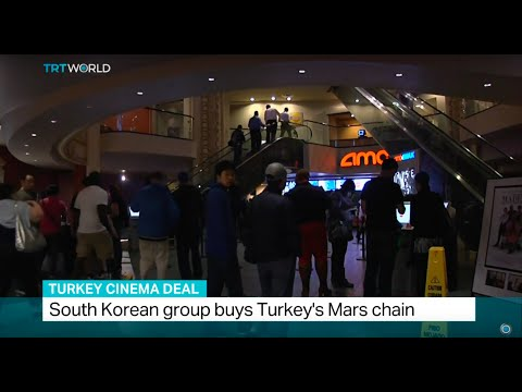 South Korean group buys Turkey's top cinema chain, Andre Pierre Du Plessis reports