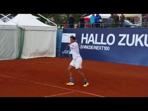Juan Martin Del Potro Sunday Practice BMW Open 2016