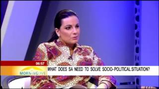 DISCUSSION: What does SA need to solve socio-political situation? pt2