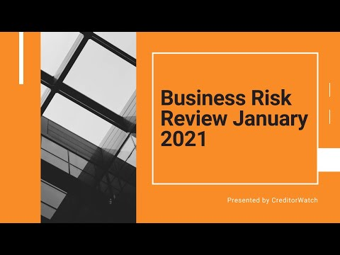 Business Risk Review January 2021