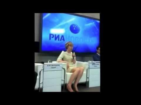 Алёна Долгова в РИА Новости 4 июля 2012 года.