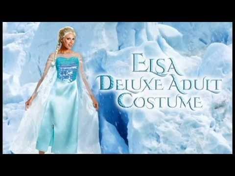Frozen Costumes- Elsa Dress- Anna Costume | trendyhalloween.com - YouTube  sc 1 st  YouTube & Frozen Costumes- Elsa Dress- Anna Costume | trendyhalloween.com ...