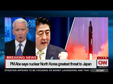 PM Abe says nuclear North Korea greatest threat to Japan since WWII