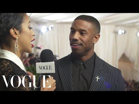 Michael B. Jordan on His High Expectations for the Met Gala  Met Gala 2018 With Liza Koshy  Vogue