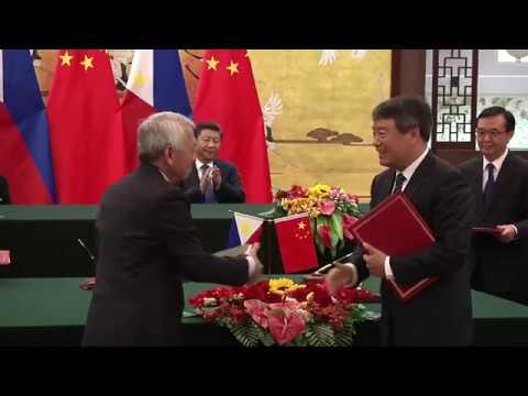 China's Xi and Philippines' Duterte pledge friendship