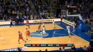 Rowland'ın Fenerbahçe'ye Karşı Attığı Son Saniye Basketi