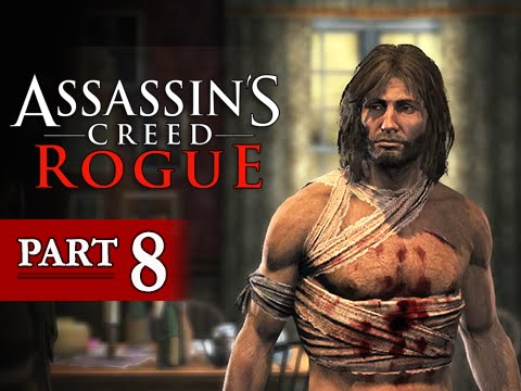 Assassin's Creed Rogue Walkthrough Part 8 - The Colour of Right (Let's Play Gameplay Commentary)