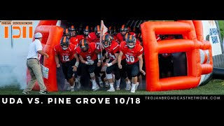 Football - UDA vs Pine Grove
