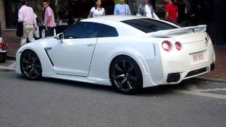 Nissan GT-R start up