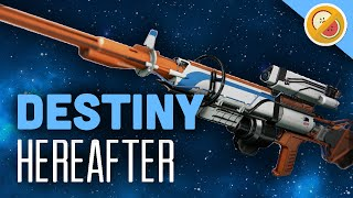 DESTINY Hereafter Fully Upgraded Exotic Sniper Rifle Review (The Taken King Exotic)