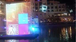 Dubai Fountain New Year 2013
