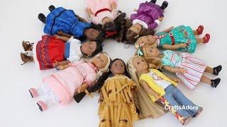 Всі наші BeForever міні-американська дівчинка ляльки ~АГСМ~ БГ~ #agzcrew