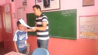 Yağcı Köyü İlkokulu 4. Sınıf Karne Günü