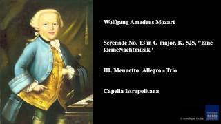 """Wolfgang Amadeus Mozart, Serenade No. 13 in G major, K. 525, """"Eine kleine Nachtmusik"""""""
