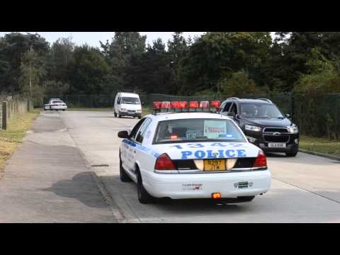 Surge Drill 4 Cop Cars NYPD, Hickory Creek, US Border Patrol and a unmarked car