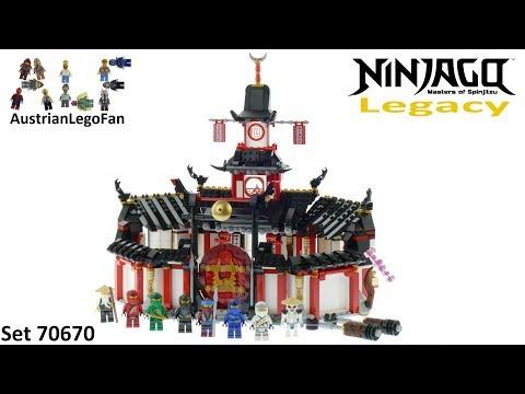 Lego Ninjago Legacy 70670 Monastery Of Spinjitzu Speed Build