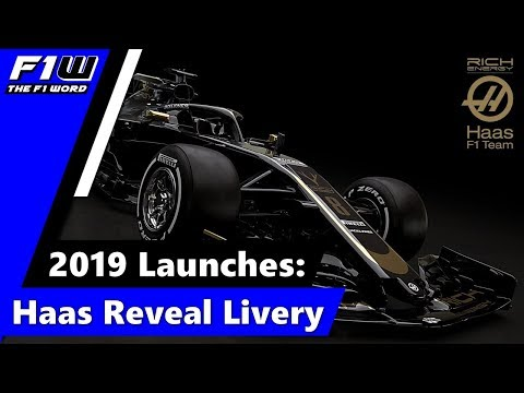 2019 Launches: Haas Reveal Livery