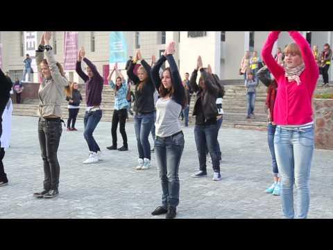 Свадебный танцевальный флешмоб в Перми