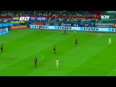 Gol de A. Ibargüen | América 2 - 0 Tijuana | Apertura 2018 - Jornada 13 | LIGA Bancomer MX
