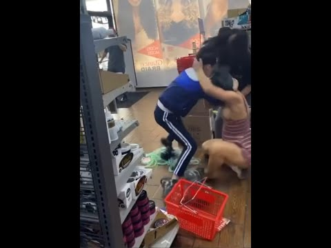 A White Woman Was Caught Stealing from a Asian Beauty Supply Store in Columbus, Ohio