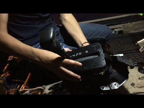How To Remove Gear Floor Shifter Assembly Automatic Transmission Honda Accord | DIY Auto Repair