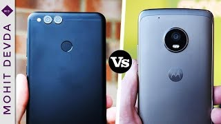 Honor 7X vs Moto G5 Plus - Which One You Should Buy ? | 2017