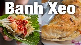 Banh Xeo - Giant Vietnamese Crepe At Banh Xeo 46a