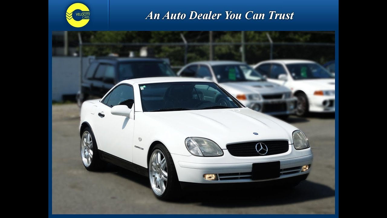 1998 MercedesBenz SLK230 Kompressor Roadster Convertible for sale