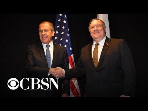 Pompeo to meet with Russian FM as tensions escalate over Iran, Venezuela