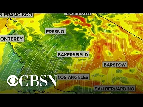 Historic winds forecasted for California amid wildfires
