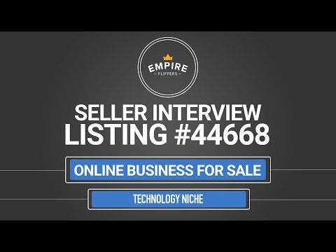 Online Business For Sale – $3.9K/month in the Technology Niche