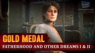 Red Dead Redemption 2 - Mission #46 - Fatherhood and Other Dreams I & II [Gold Medal]