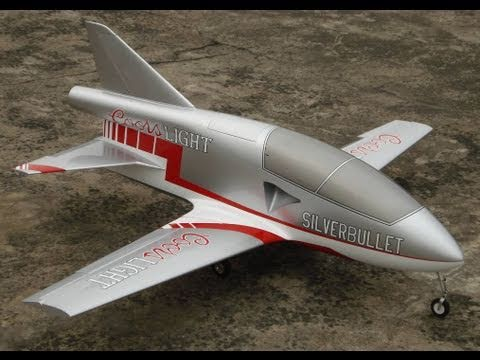 "X-Treme BD-5 ""Maiden Flight"" Rc Jet"