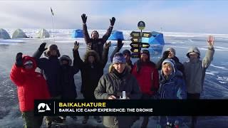 Baikal Ice Camp Experience: The Dronie