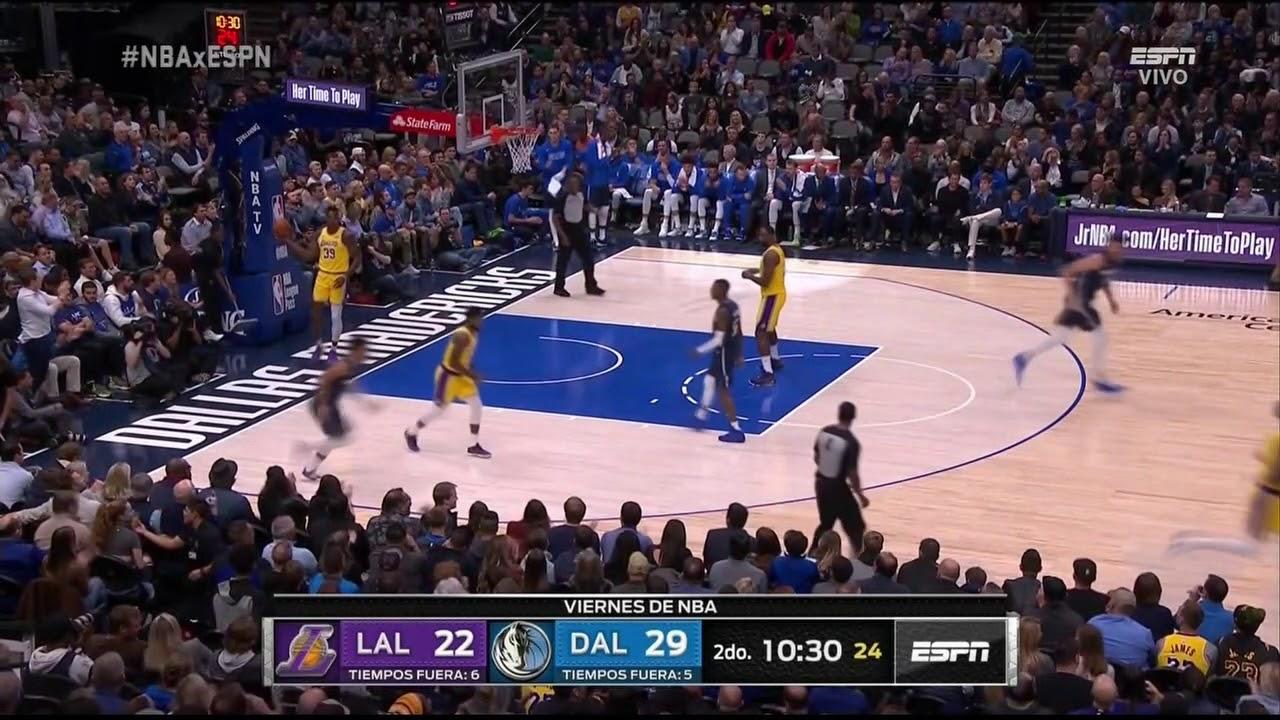 Jalen Brunson Full Play 11 01 19 Los Angeles Lakers Vs Dallas Mavericks Smart Highlights