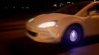 Светодиодное колесо на автомобиль