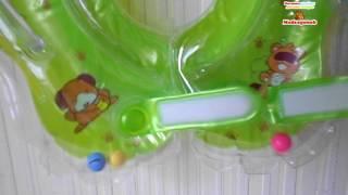 Видеообзор: Круг для купания новорожденных, MOMMY LOVE , KR 7748