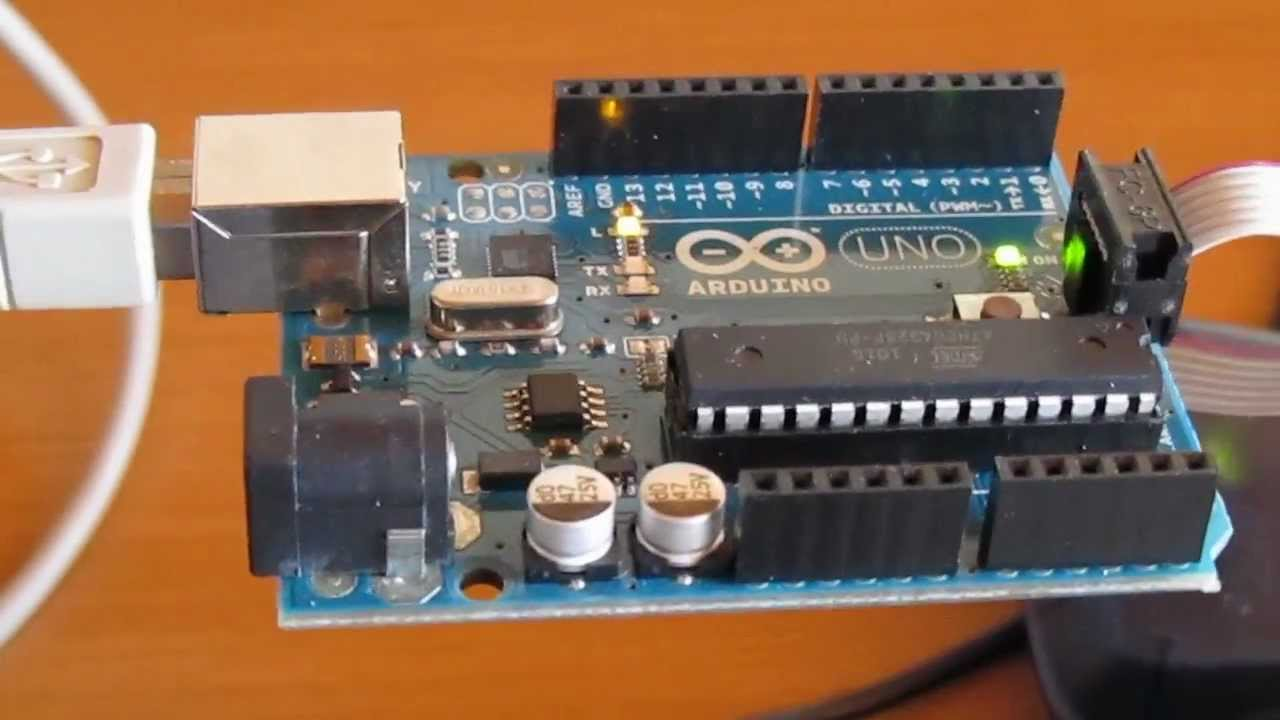 Burning the arduino uno bootloader using atmel studio and