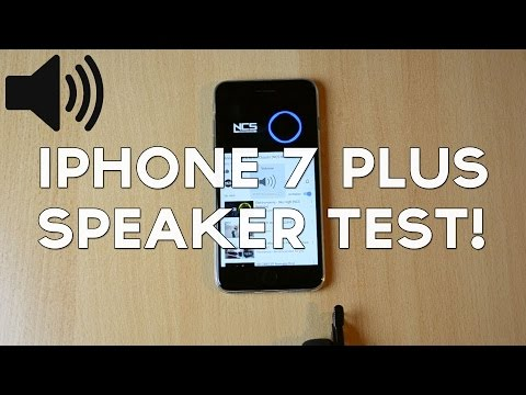 Apple iPhone 7 Plus Speaker / Sound Test!
