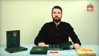 2 гривны. Памятные монеты Украины. Альбом для монет. Том 1