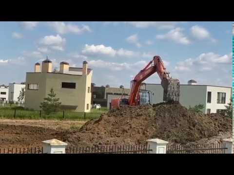 Подготовка участка под строительство загородного дома в Горки-8