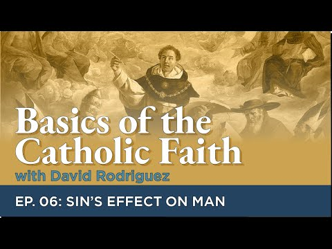 Basics of the Catholic Faith: Episode 06 - Sin's Effect on Man