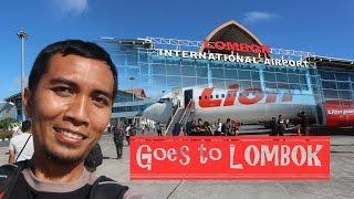 jalan jalan ke lombok naik pesawat lion air boeing 737-900er